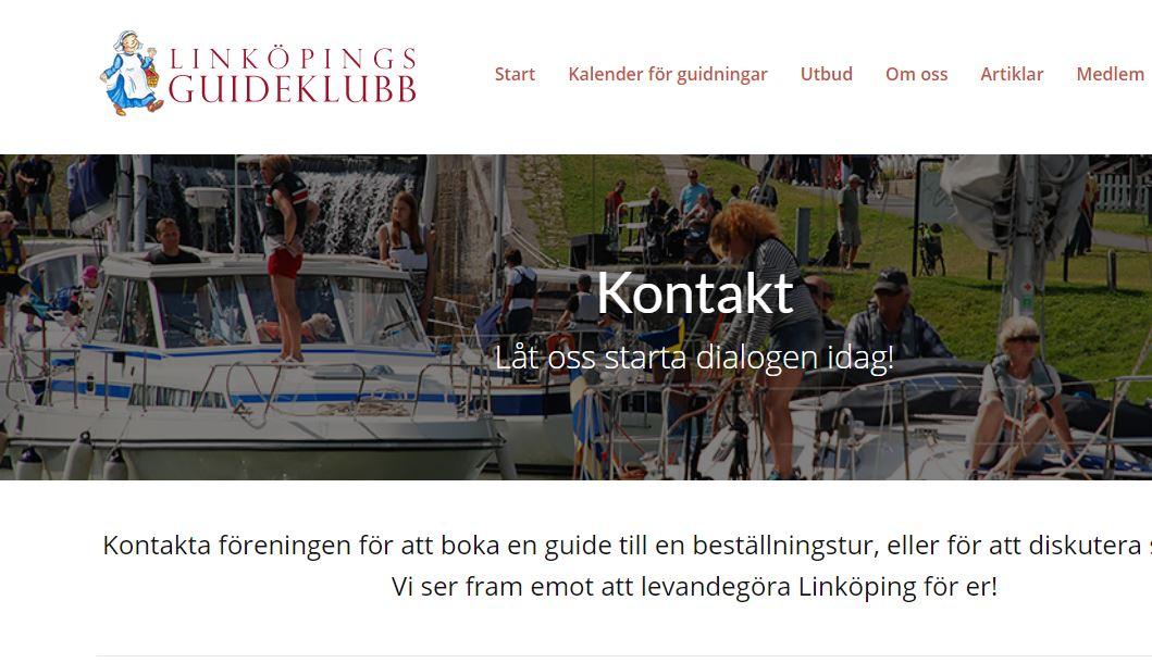 Linköpings Guideklubb Har Fått Ny Hemsida